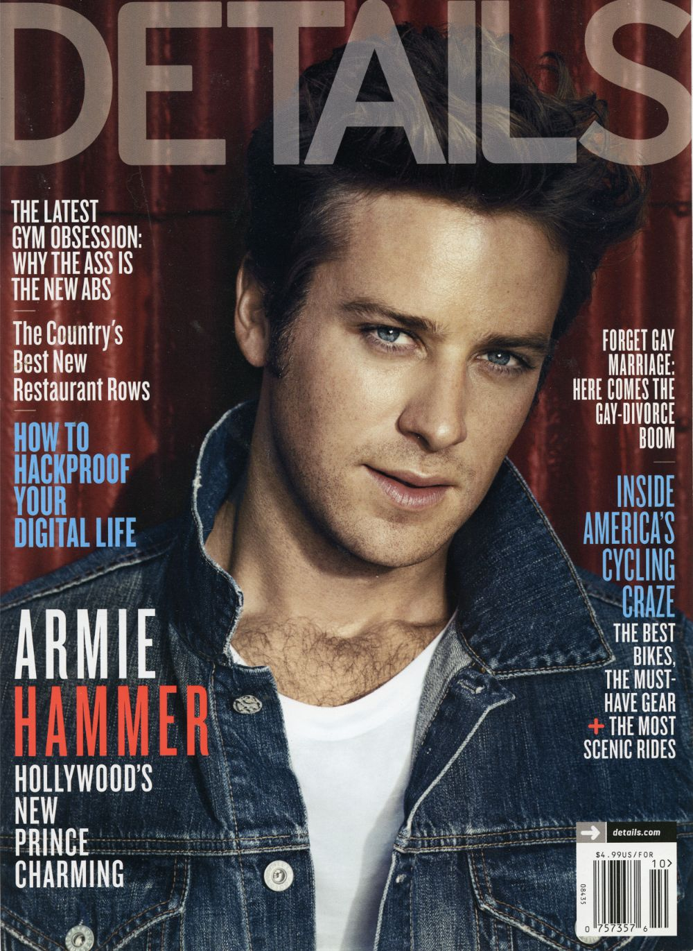 Details Magazine – Armie Hammer