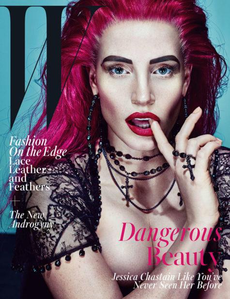 W Magazine – Jessica Chastain